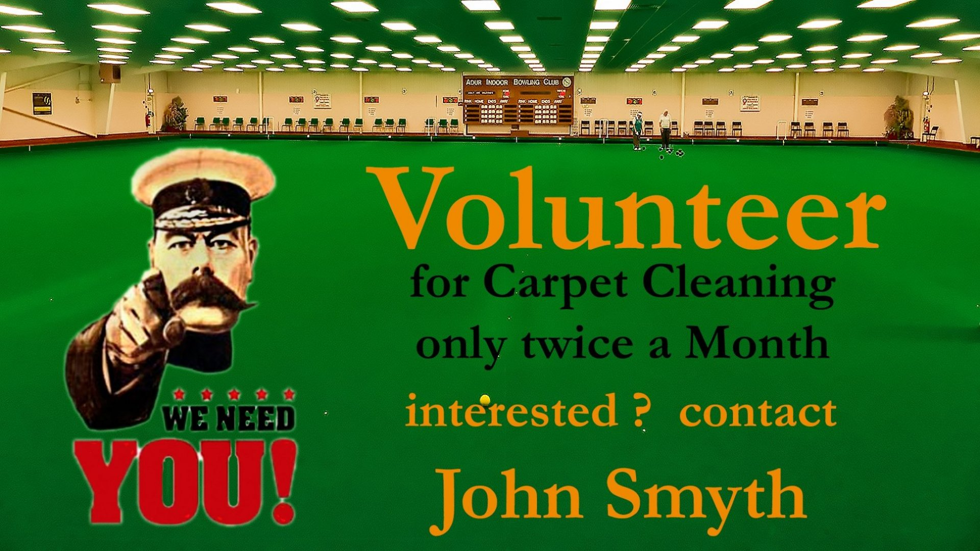Carpet Volunteers