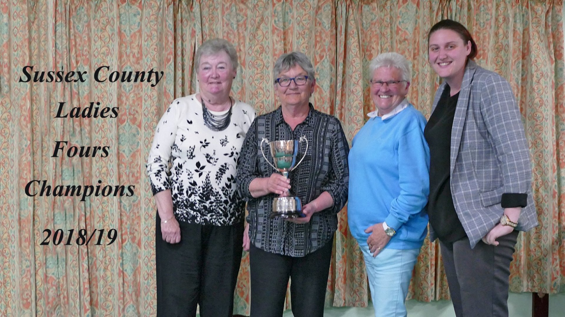 Ladies County Fours Winners