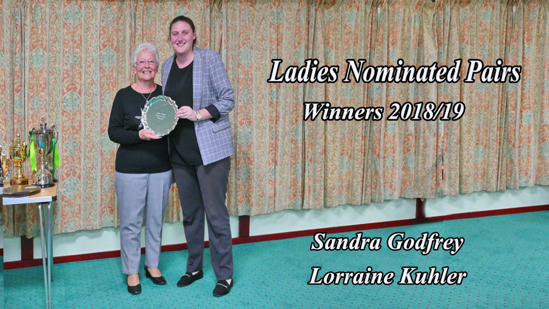 Ladies Nominated Pairs Winner