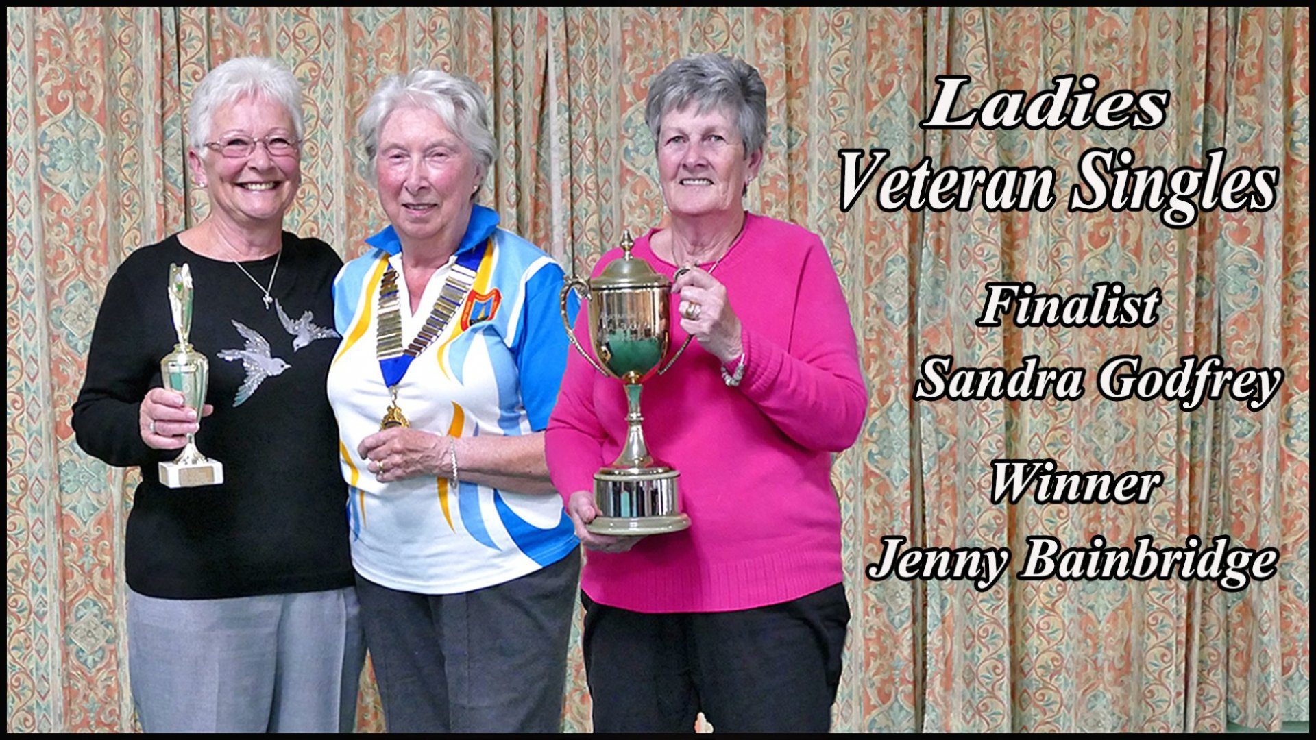 Ladies Veteran Singles Finalists