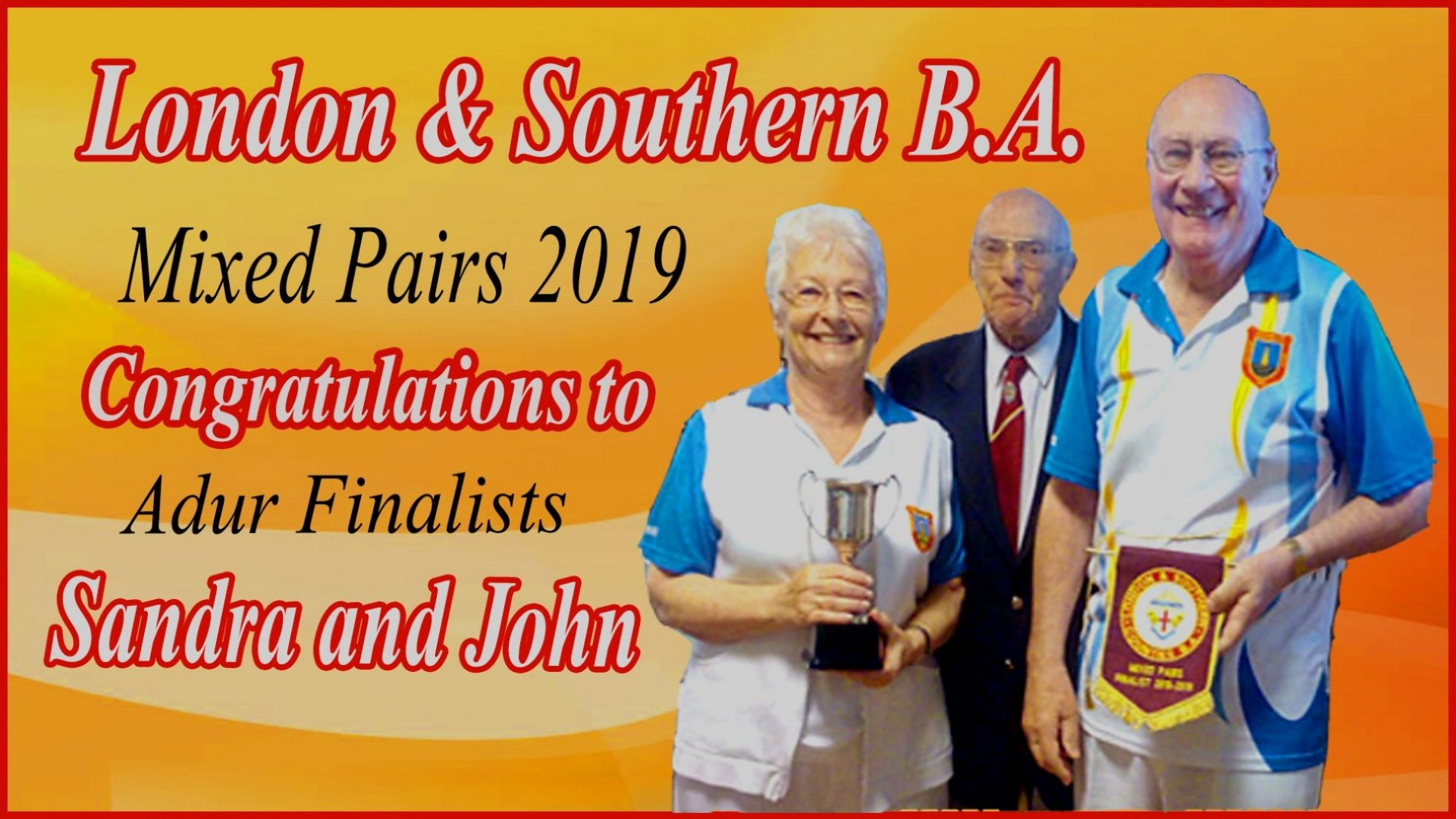 London & Southern B.A - Mixed Pairs Final 2019 (20.3.19)