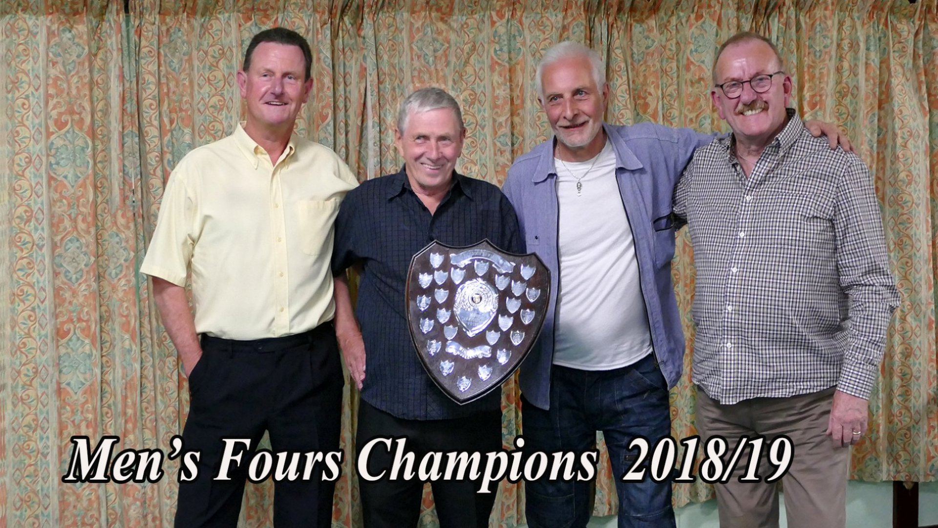 Mens Fours Winners
