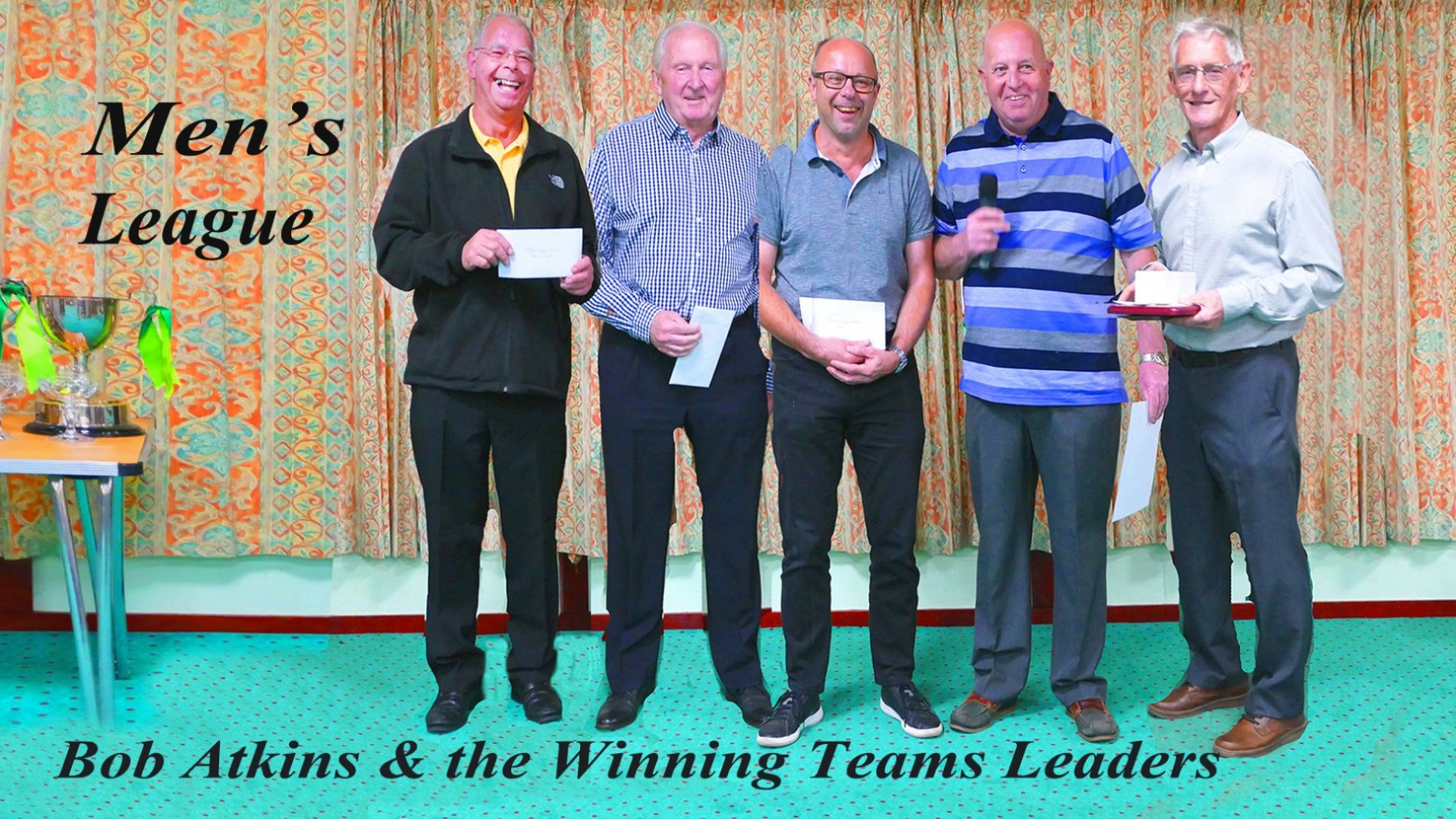 Mens League Team Winners